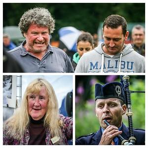 Faces at Birnam Highland Games