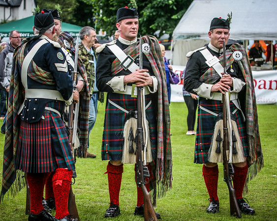 The Atholl Highlanders Birnam Highland Games 2012      More info on Atholl Highlanders Wikipedia.