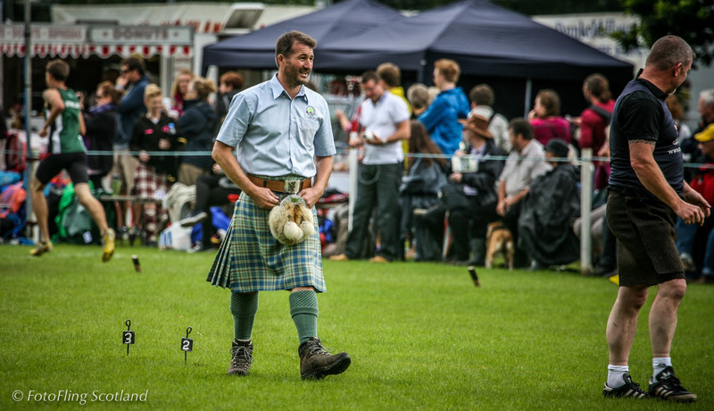 That's an odd skirt you're wearing Birnam Highland Games 2012