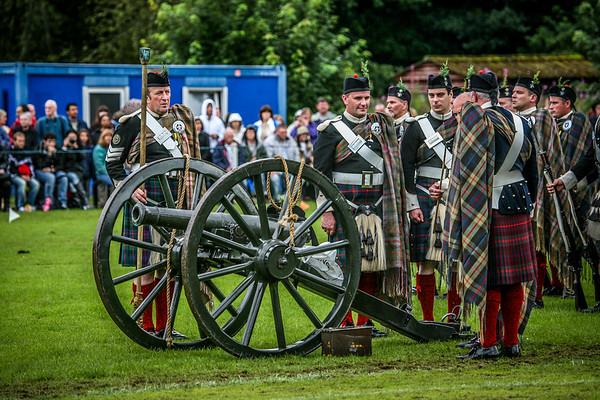 Atholl Highlanders Birnam Highland Games 2012