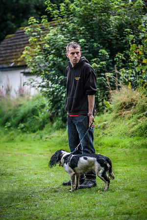One man and his dog Birnam Highland Games 2012