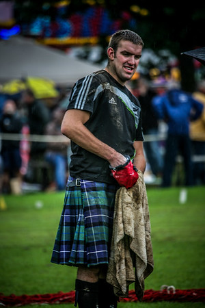Scottish Heavyweight Contestant Birnam Highland Games 2012