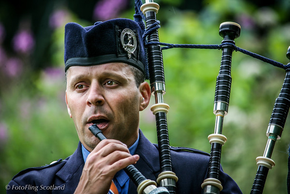 Piper Birnam Highland Games 2012
