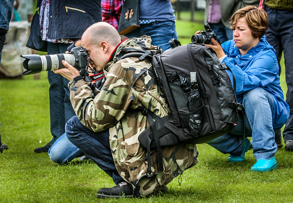 """""""Got nice photo of the back of his head! """"<br /> Birnam Highland Games 2012"""