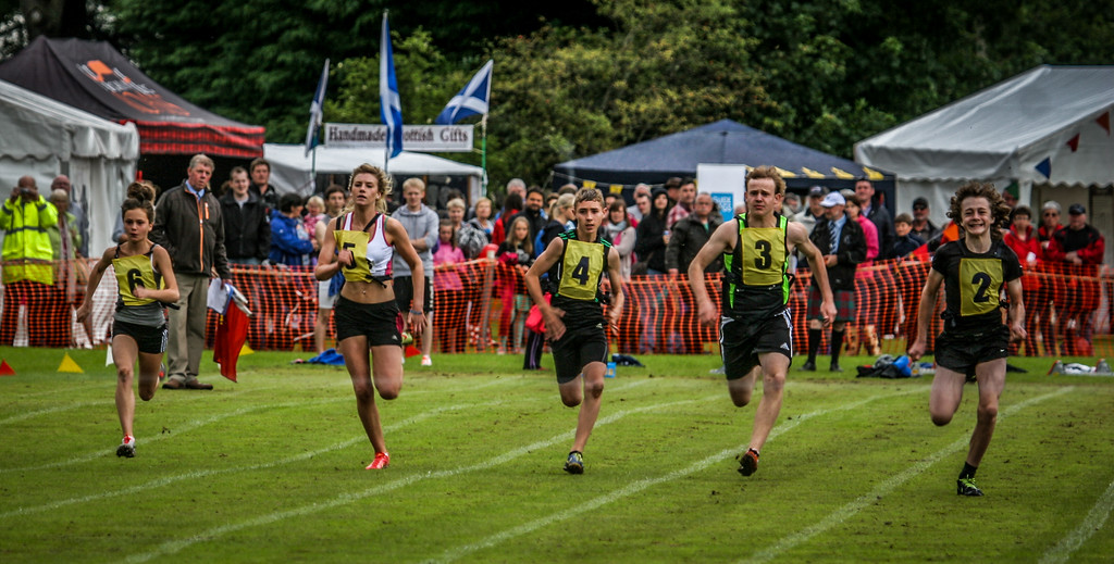Race Birnam Highland Games 2012