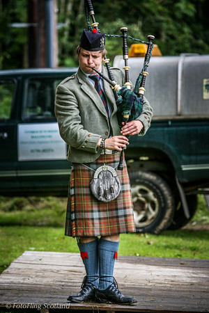 Solo Piper<br /> Birnam Highland Games 2012