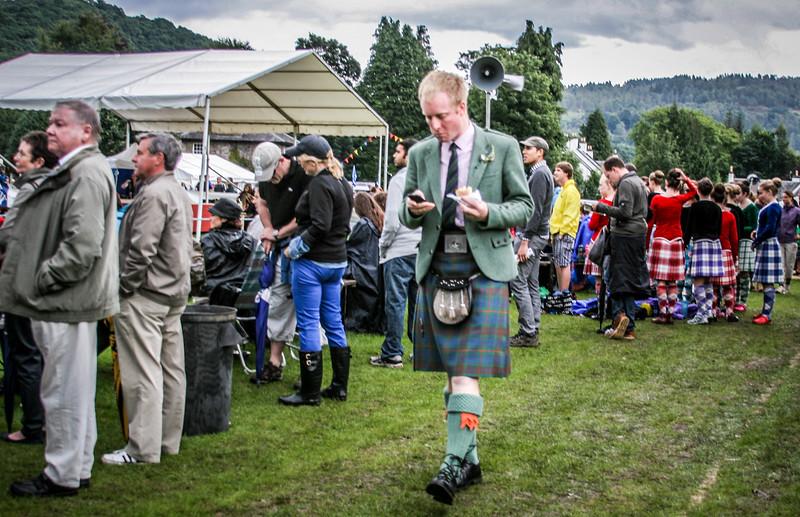 Multi-Tasking<br /> Birnam Highland Games 2012