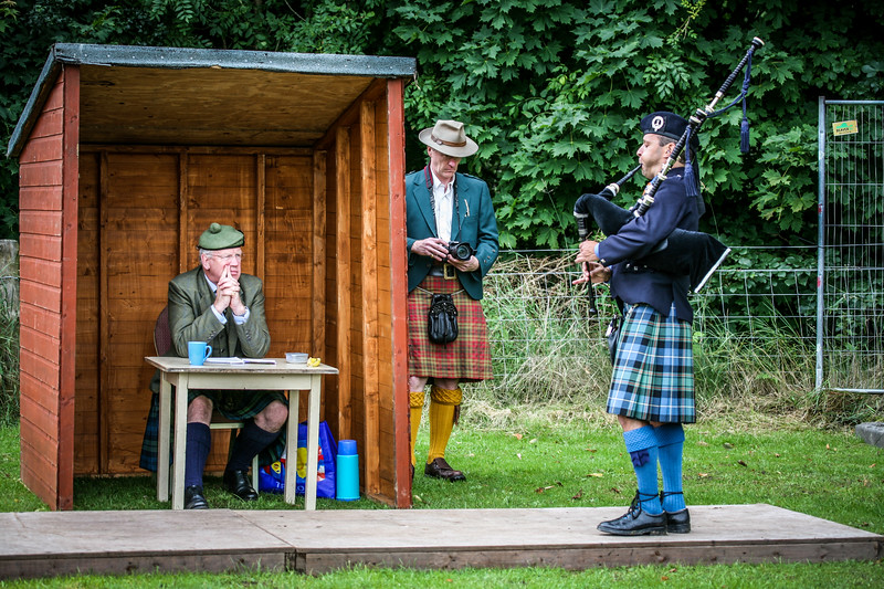 Solo Piping Birnam Highland Games 2012