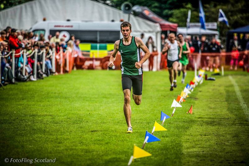 Athletic Race<br /> Birnam Highland Games 2012