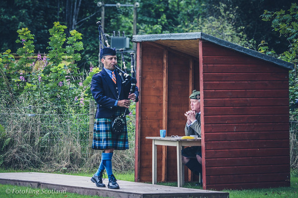 Sitting in Judgement Solo Piping at Birnam Highland Games 2012