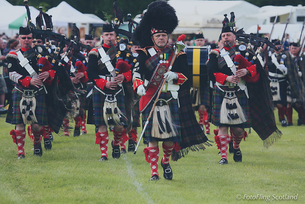 The Atholl Highlanders - Pipeband
