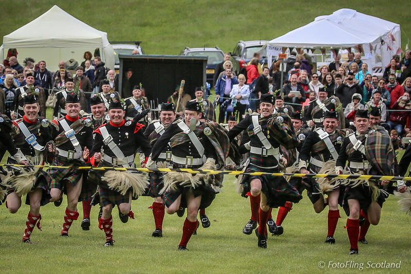 Atholl Highlanders Kilt Race
