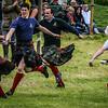 Atholl Highlanders - Kilt Relay Race