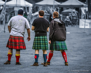 Three Kilted Heavies