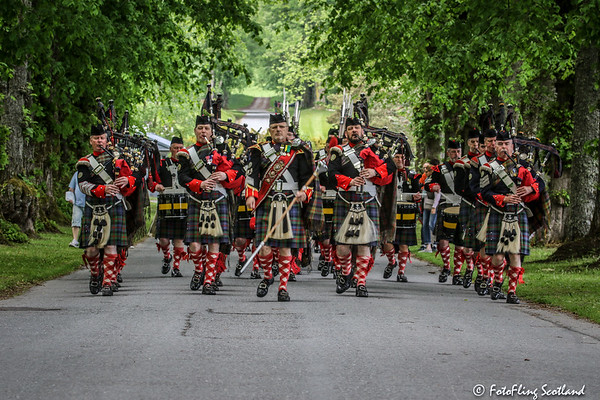 Opening Parade - Blair Atholl Highland Gathering