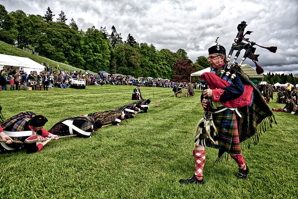 Atholl Highlanders' Tug O' War