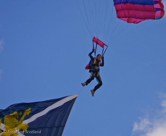 Just Dropped in ! Blairgowrie Highland Games 2003