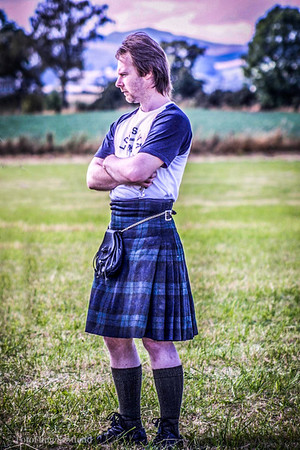 Kilted Contemplation Blairgowrie Games 2003