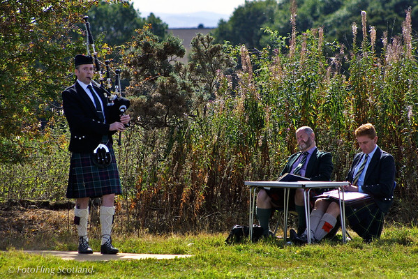 Solo Piping Blairgowrie Highland Games 2003
