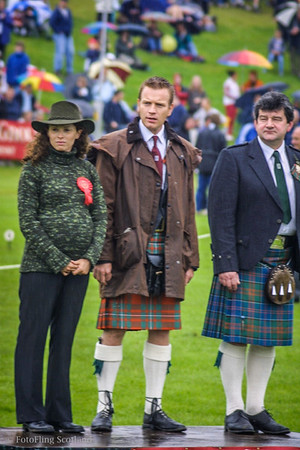 Ewan McGregor - Chieftain, Crieff Games 2001