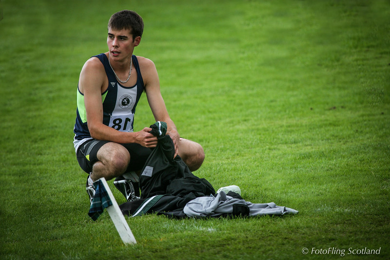 Athlete Resting