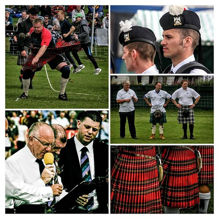 Crieff Games Collage