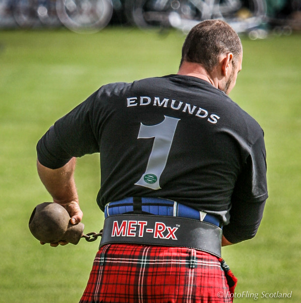 Gregor Edmunds - Weight Thrower