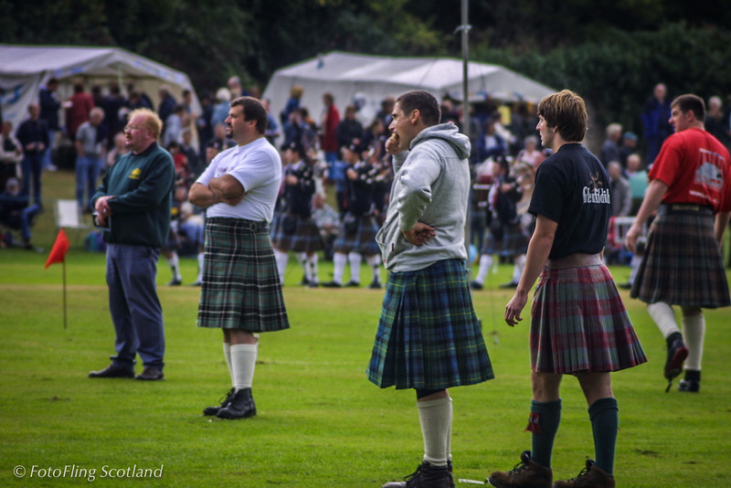 Scottish Heavies Pitlochy Highland Games 2003
