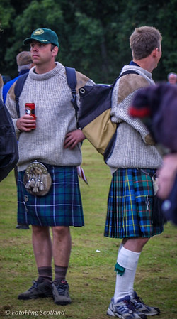 Kilted Tourist Pitlochy Highland Games 2003