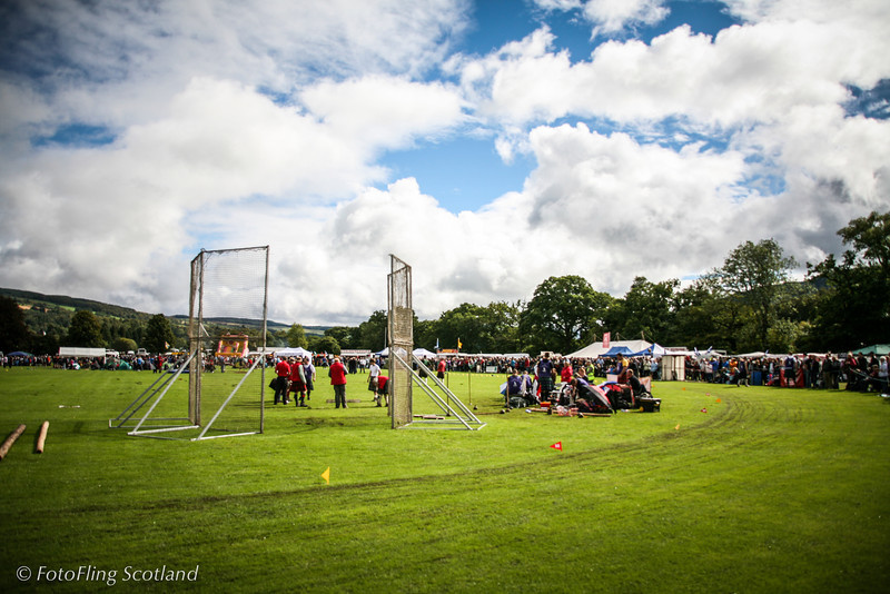Games Field<br /> Pitlochry Highland Games 2010