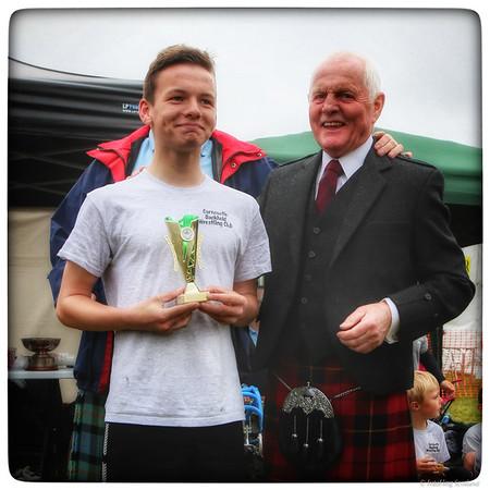 Dean Whyte - Junior Prize Winner - Backhold Wrestling