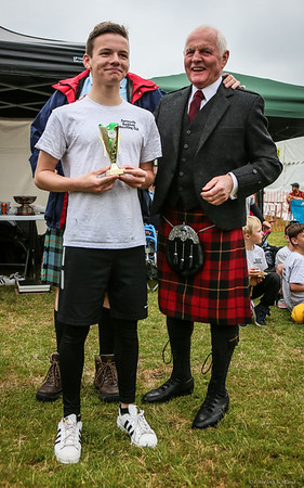 Backhold Wrestling - Junior Prize Winners