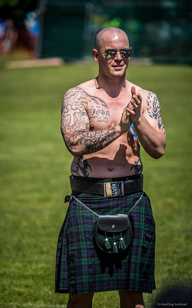 Shades, Tattoos and Kilt