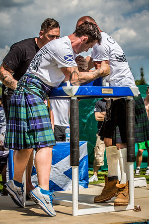 Kilted Arm Wrestling