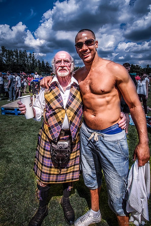 William Baxter and the Shirtless Gentleman