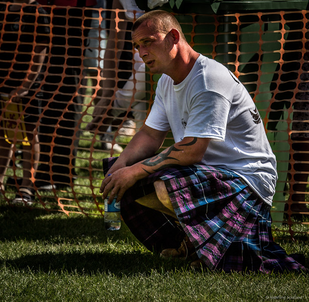 Kilted Arm Wrestler