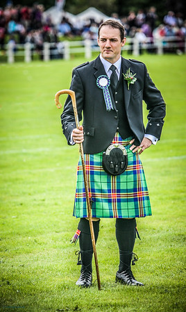 Bute Highland Games Chieftain 2013