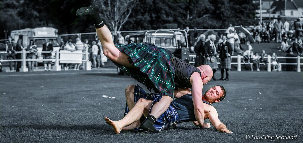 Scottish Backhold Wrestlers: Ólafur Oddur Sigurðsson & Frazer Hirsch