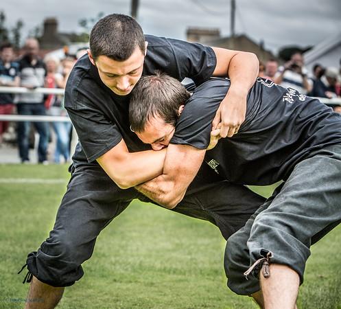 Breton Wrestlers