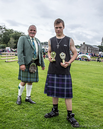 Rothesay Academy Wrestling Prize Winner
