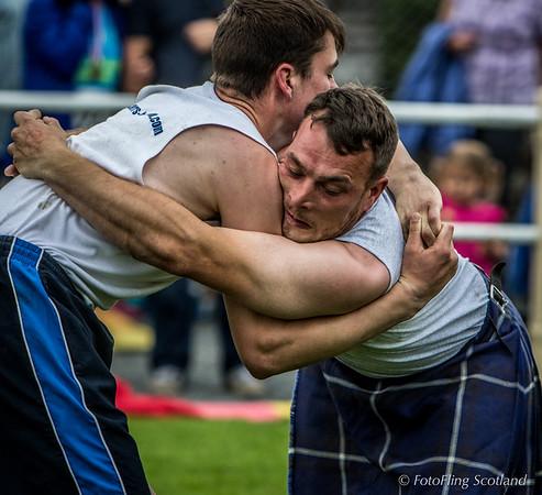 Jack Brown & Frazer Hirsch - Scottish Backhold Wrestlers