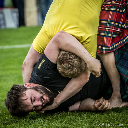 Scottish Backhold Wrestlers: Matthew Southwell & Ryan Ferrey