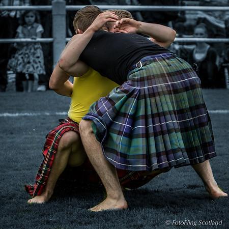 Scottish Backhold Wrestling: Ryan Ferrey, & Greg Neilson