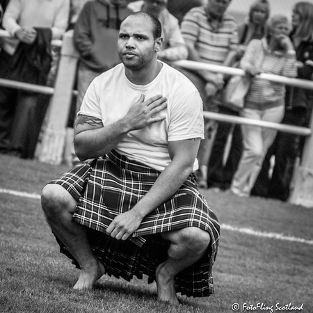 Garrett Parks, Backhold Wrestler from North Carolina - Bute Highland Games 2015