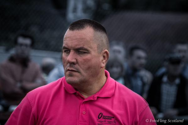Mark Johnstone of Scottish Wrestling Bond
