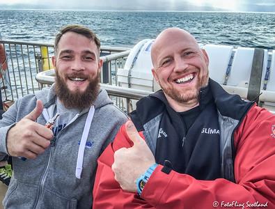 Wrestlers: Frazer Hirsch & Ólafur Oddur Sigurðsson