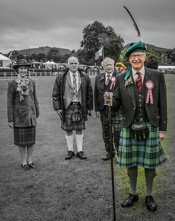 Bute Highland Games Chieftain