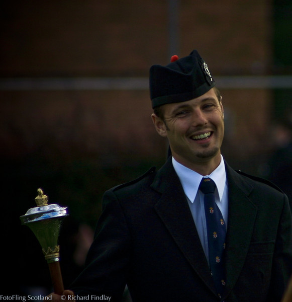 The Drum Major's Smile