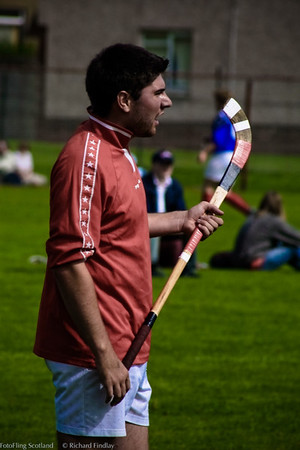 Shinty Player Cowal Gathering 2003