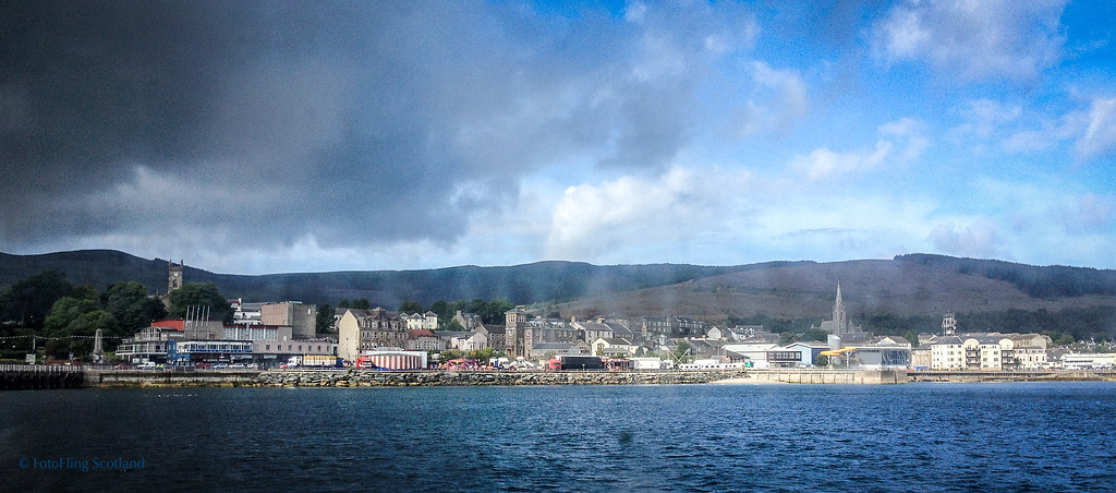 Arrival at Dunoon